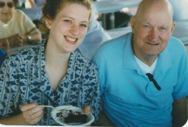Dad and Kara